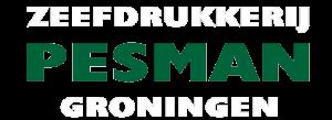 Logo zeefdrukkerij pesman